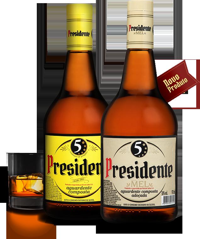 Garrafa de Conhaque Presidente